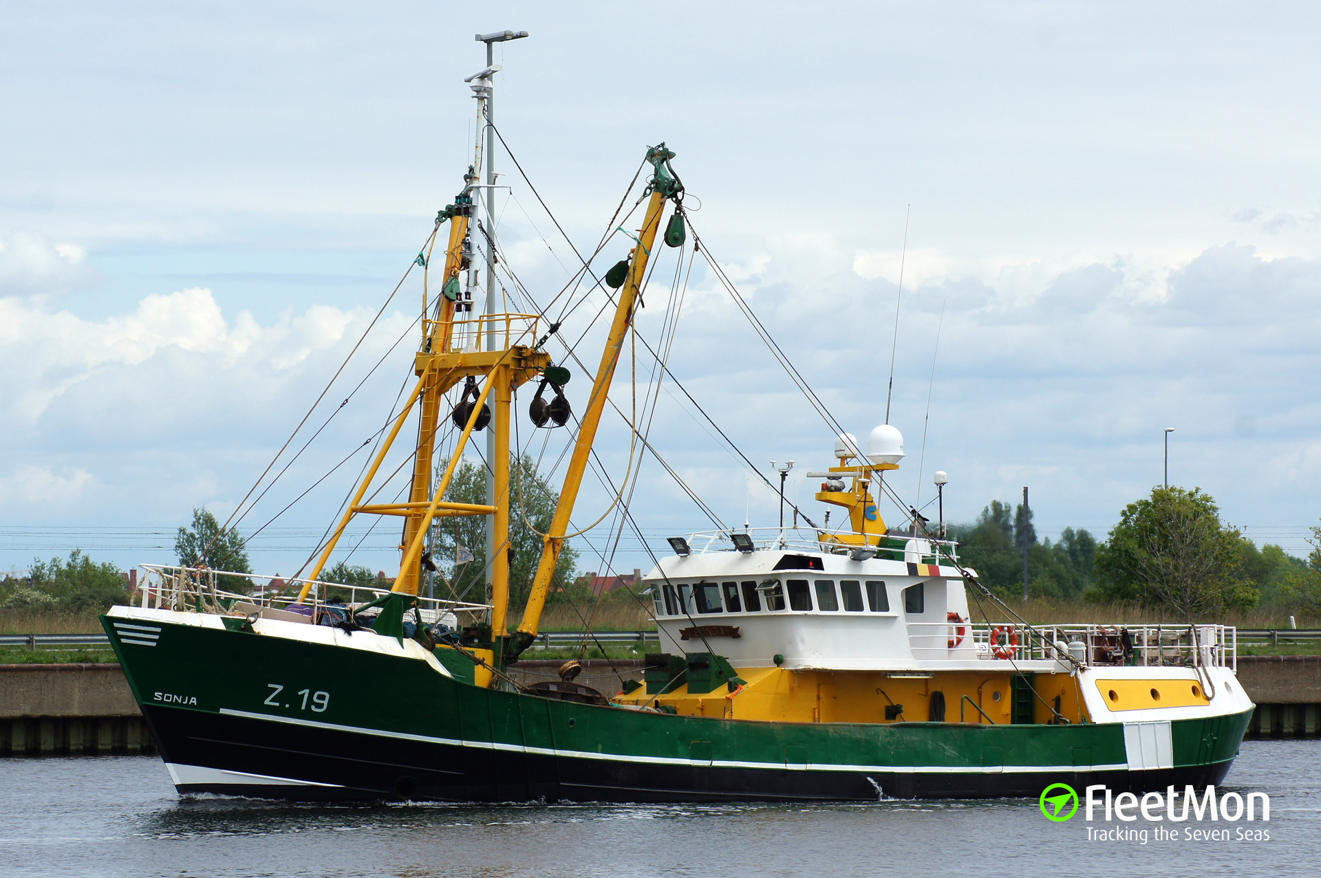 Gps Fleet Tracking Pricing >> Z19 SONJA (Fishing vessel) IMO