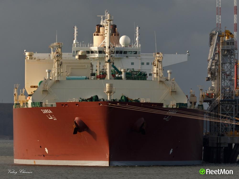 LNG tanker Zarga medevac