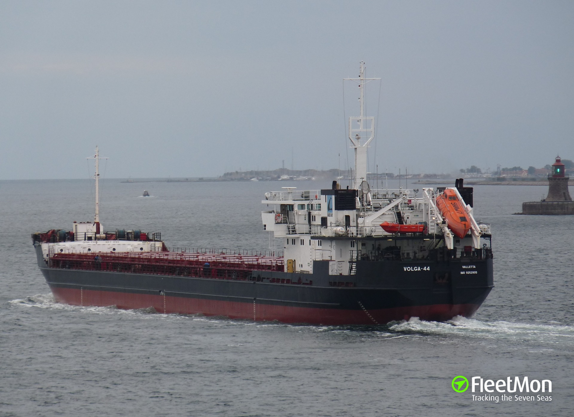 Freighter VOLGA-44 grounding